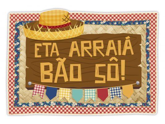 cartaz regina eta arraía bao