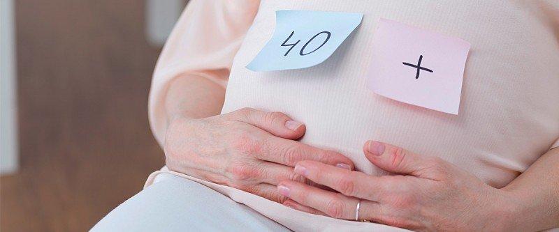 gravidez tardia 40 anos