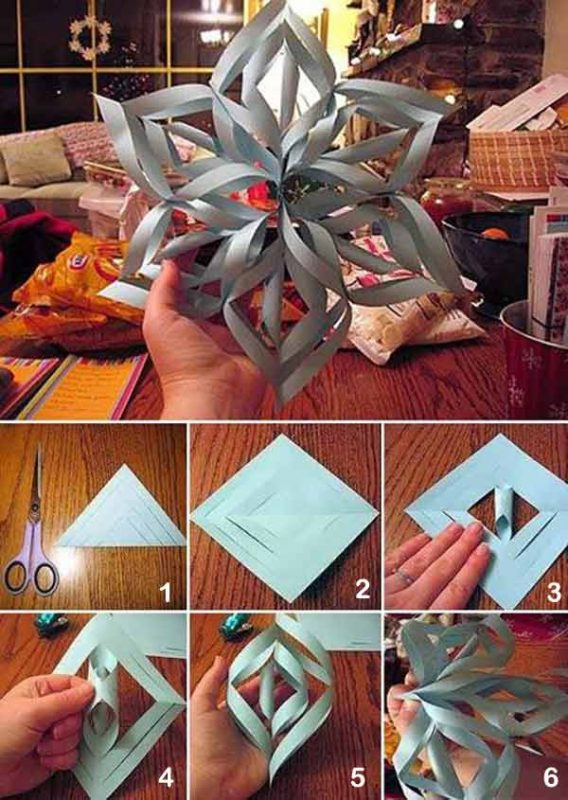 enfeites de natal diferentes e feitos com papel