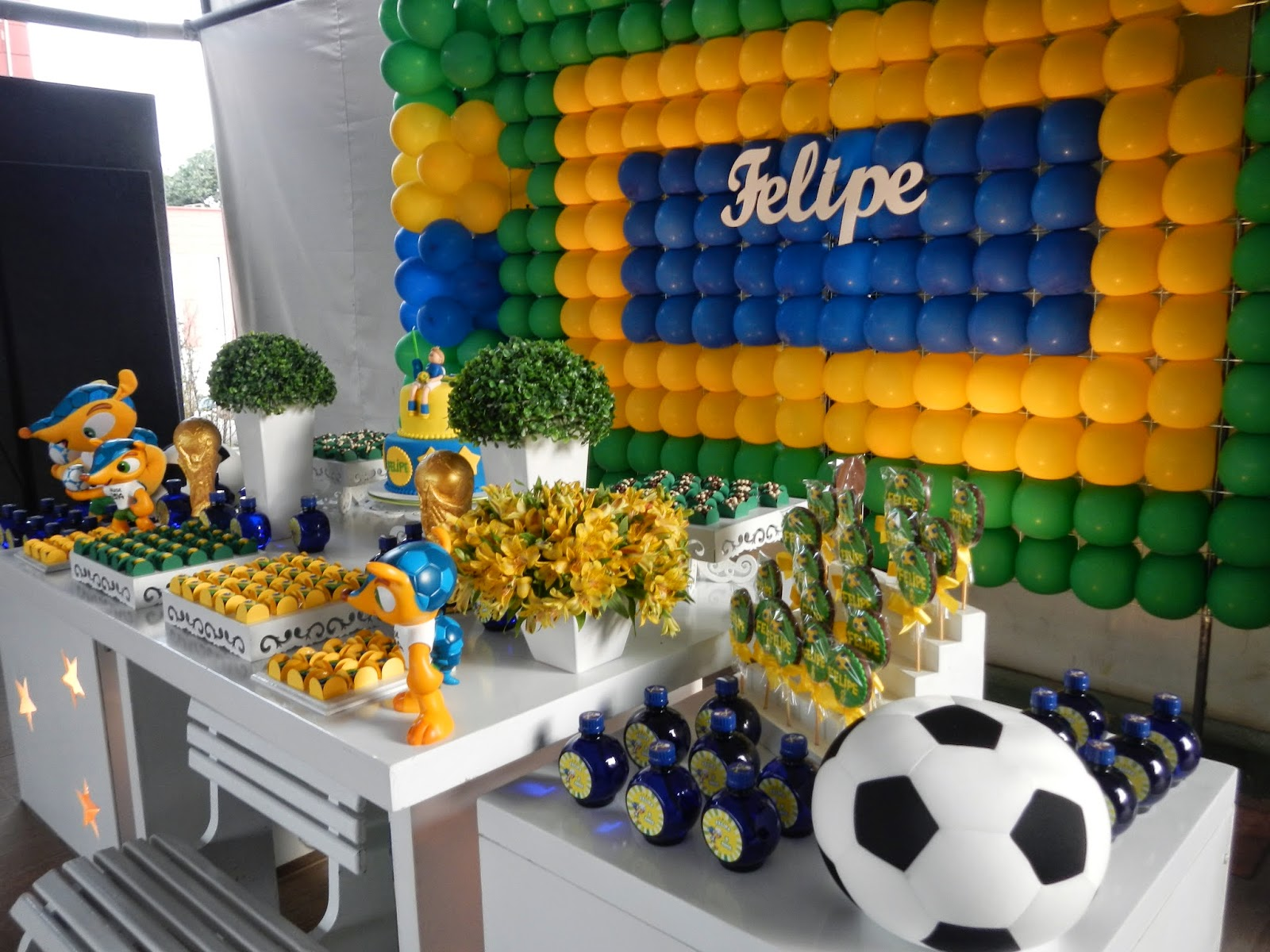 Aniversário Infantil - Copa Do Mundo