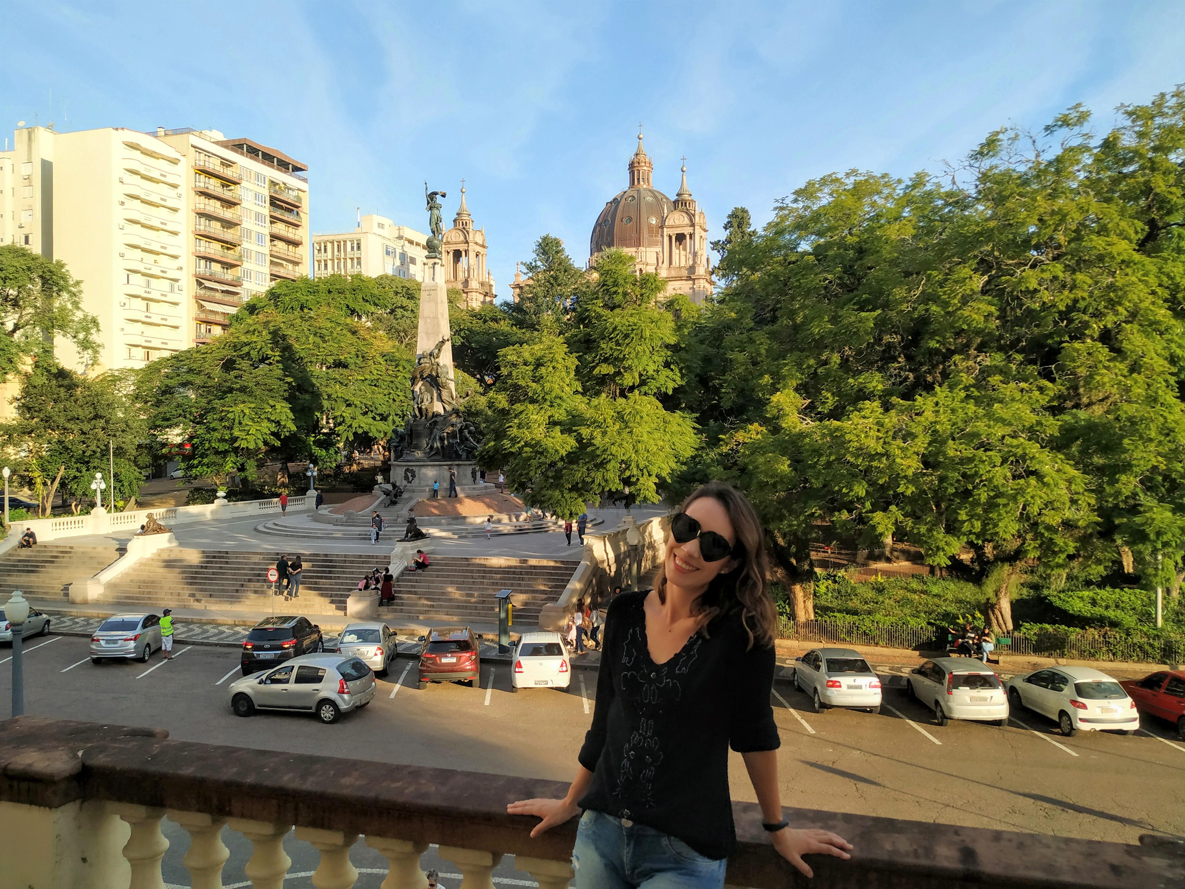 Karin A Blogueira Que Mais Caminha Na Cidade