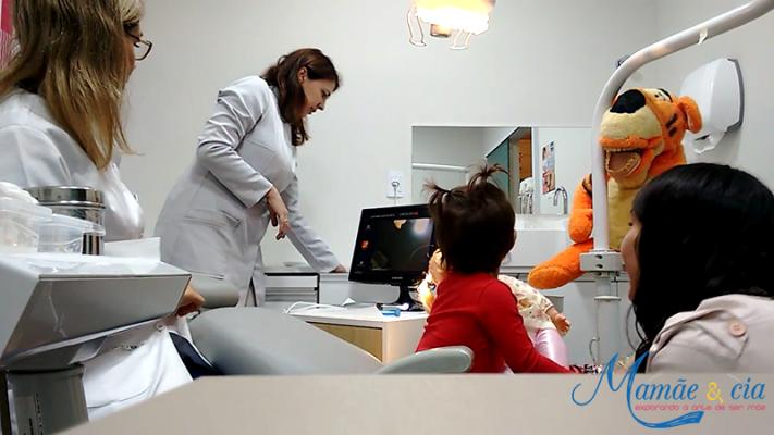 consultório da dentista infantil Ana