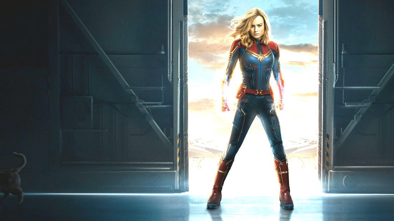 Capitã Marvel E A Mulher De Deus