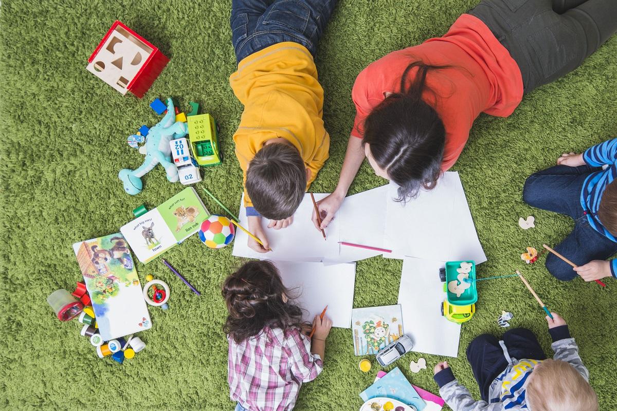 Criancas-pintando - Pixabay