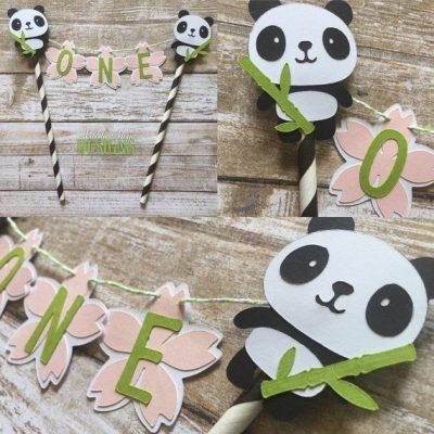 detalhes aniversário panda