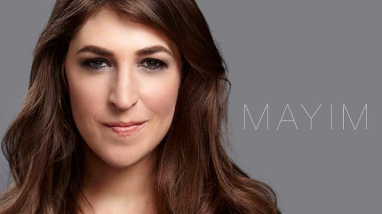 Mayim-bialik- A Atriz E Autora De Girling UP